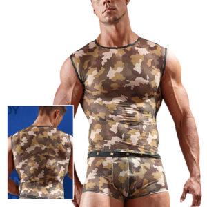 Militær Shirt til Ham