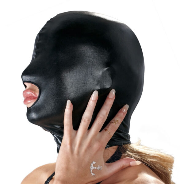 wetlook maske bad kitty