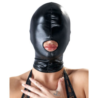 wetlook maske bad kitty