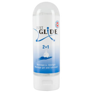 Just Glide 2 i 1 Glidecreme og massageolie