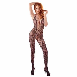 Blonde Bodystocking i Sort
