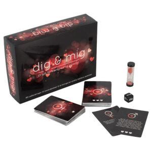 Dig & Mig erotisk brætspil for par