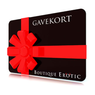 Gavekort til Boutique Erotic
