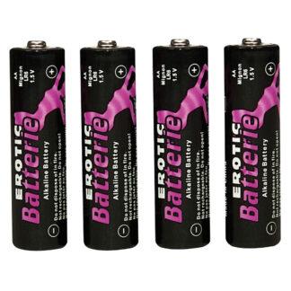 AA Batterier til Sexlegetøj