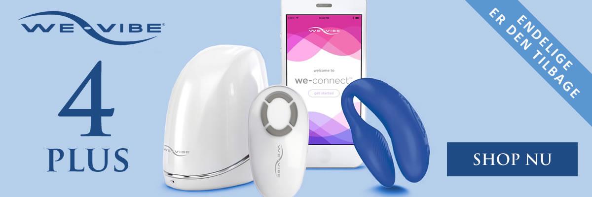 We-Vibe 4 plus par vibrator - sexlegetøj til par
