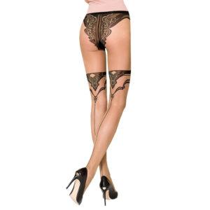 Strømpebukser med Bikini Trusser - Passion 106