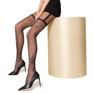 Strømpebukser med Hofteholder Look - Passion 108