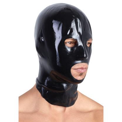 Latex Maske i Sort
