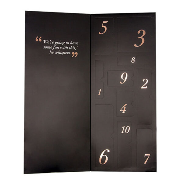 Pleasure Overload Surprise Kalender fra Fifty Shades of Grey