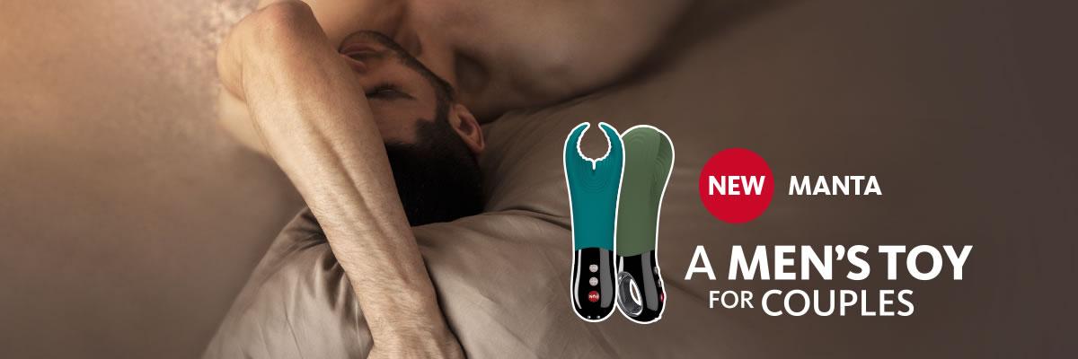 Fun Factory Manta - Penis vibrator, Masturbator og Parvibrator