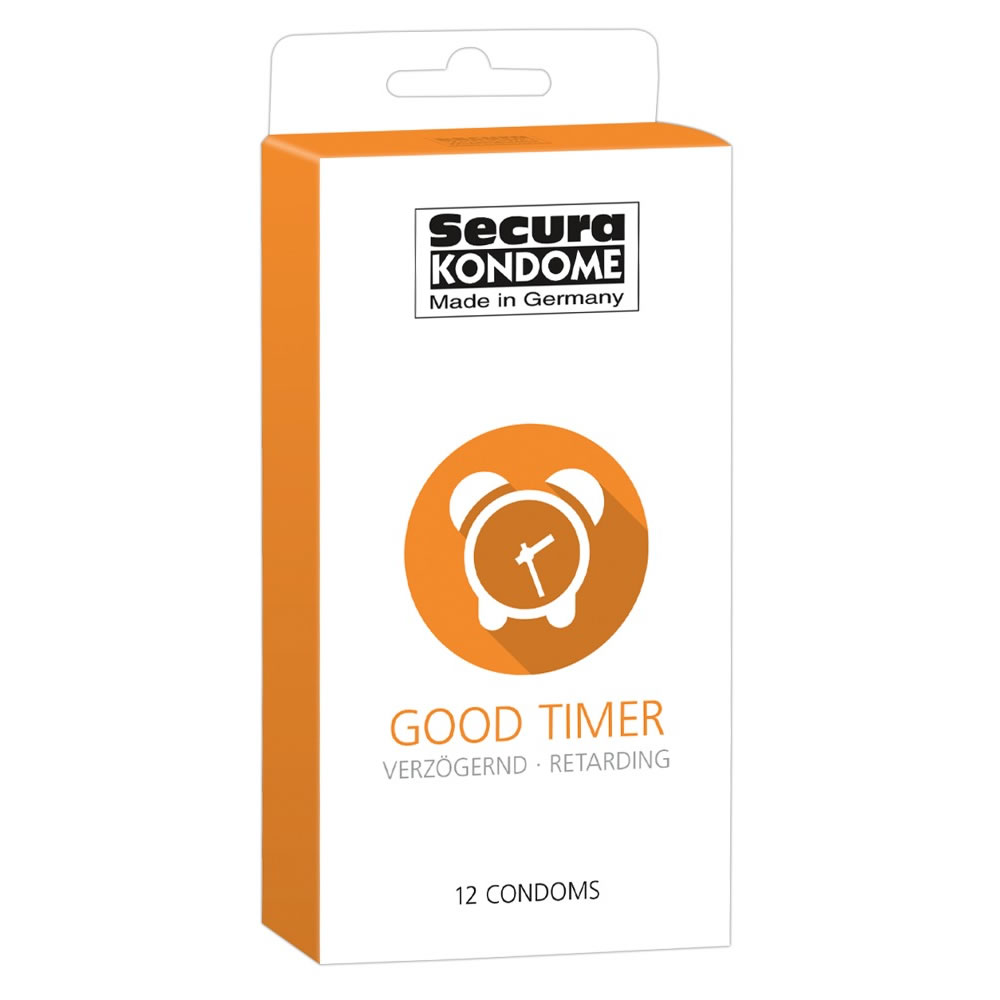 Secura Good Timer Kondom - Længere erektion