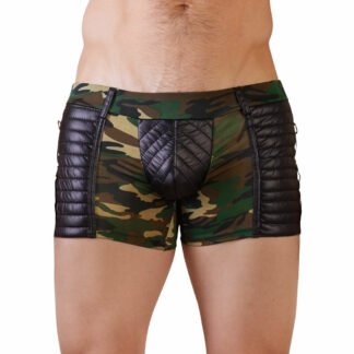Herre Camouflage Pants med Wetlook