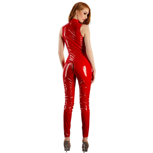 Rød Lak Jumpsuit