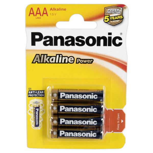 Panasonic AAA Batterier Alkaline Micro