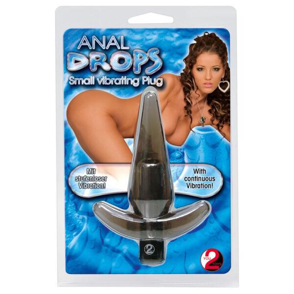 Anal drops anal plug vibrator