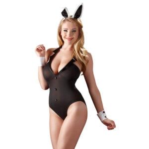 Playgirl Bunny Kostume i Sort
