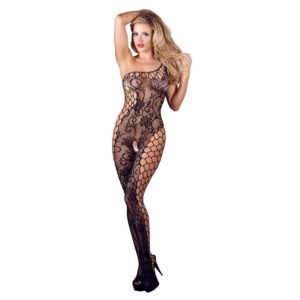 Blomstret Net Catsuit