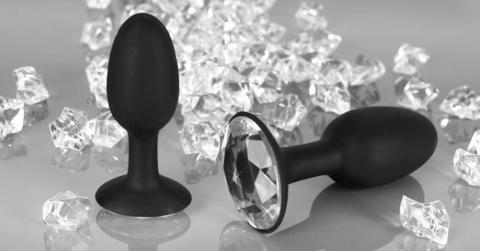 Diamond Butt Plug Large Anal Plug
