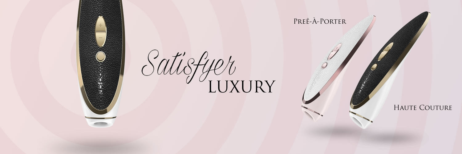 Satisfyer Luxury Prêt-à-porter & Haute Couture Klitoris Stimulator