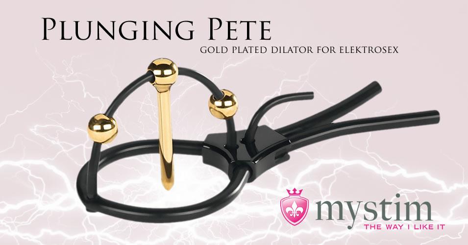 Mystim Plunging Pete Elektrosex Dilator til Pirrestrøm