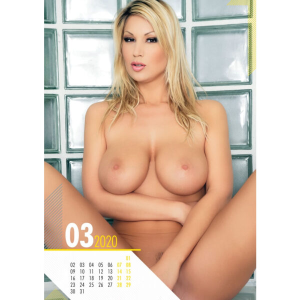 Pin up Big Boobs Kalender 2020