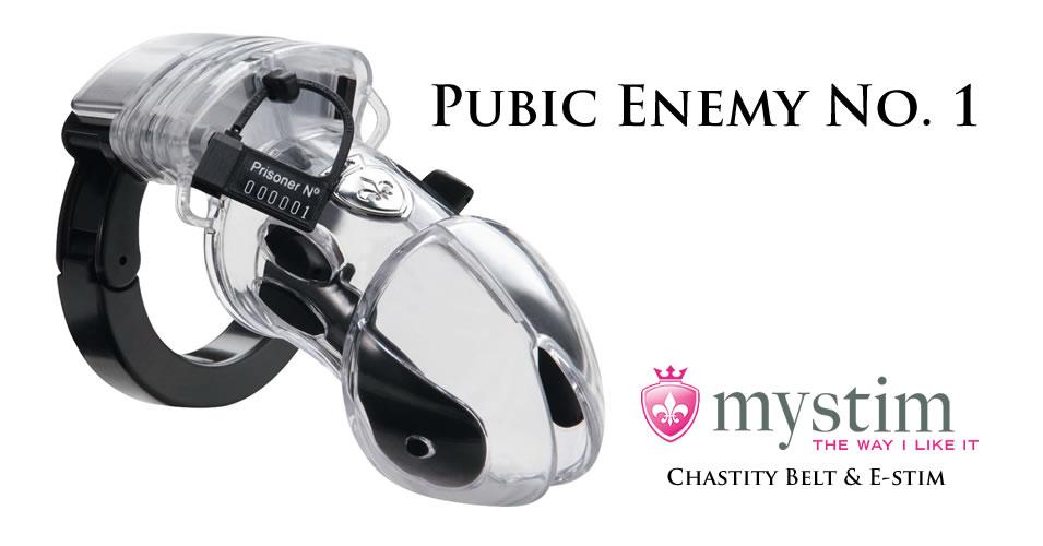 Mystim Pubic Enemy No. 1 Kyskhedsbælte til Elektrosex
