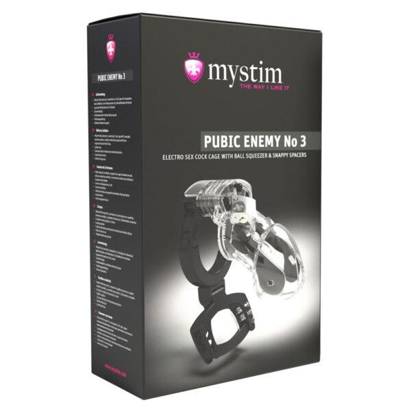Mystim Pubic Enemy No. 3 Kyskhedsbælte til Elektrosex
