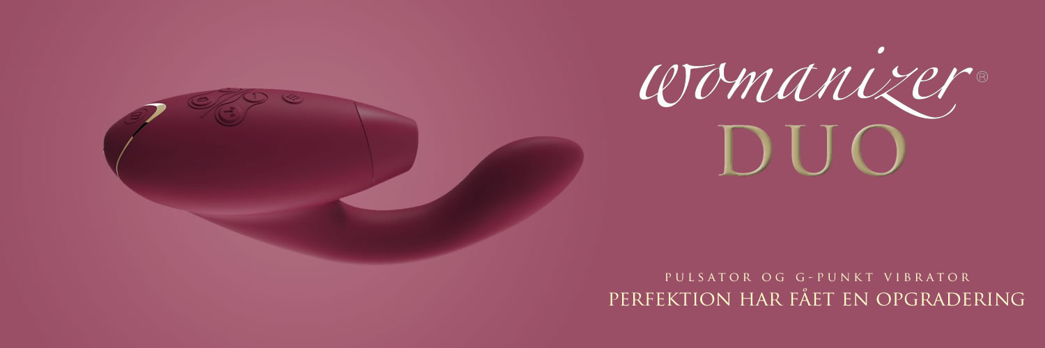 Womanizer Duo Klitoris & G-punkt Vibrator