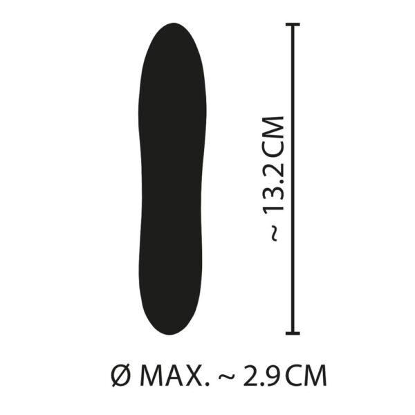 Cuties Mini Yellow - Vaginal og Anal Vibrator