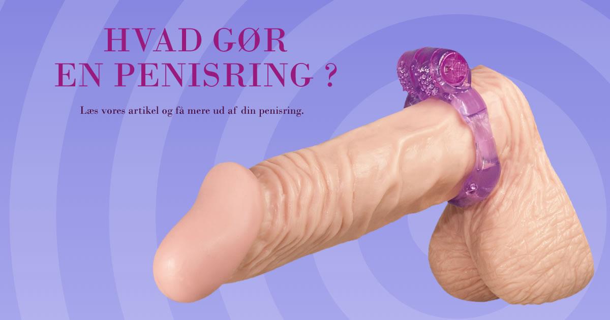 Hvad gør en penisring ?