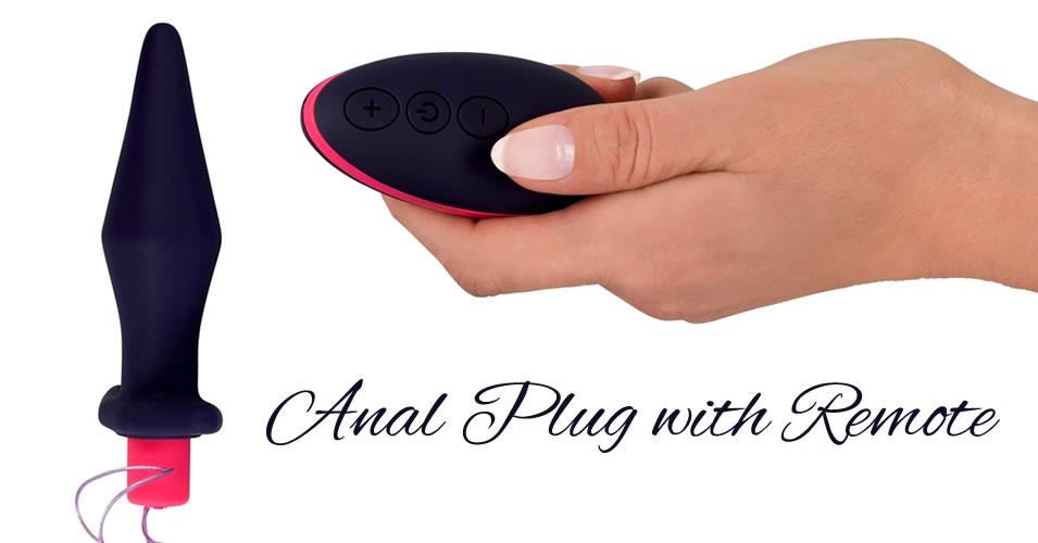 You2Toys Anal Plug med Vibrator og Fjernbetjening