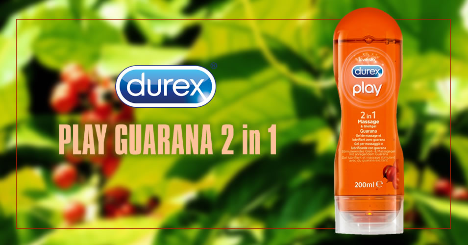 Durex Play Guarana 2-i-1 Glidecreme og Massageolie
