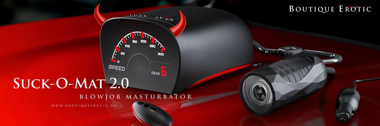 Suck-O-Mat 2.0 Blowjob Maskine & Masturbator