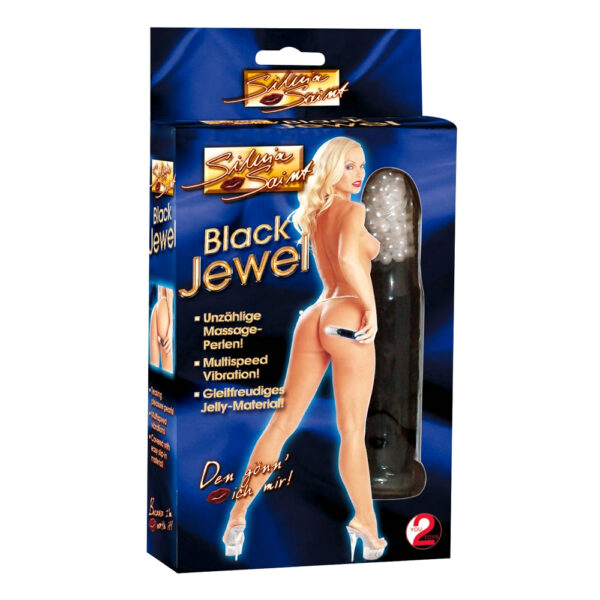 Black Jewel Mini Perlevibrator Silvia Saint