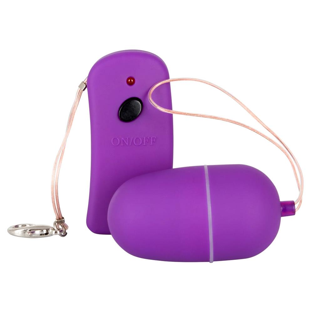 Lust Control Purple 10 speed Trådløst Vibrator Æg