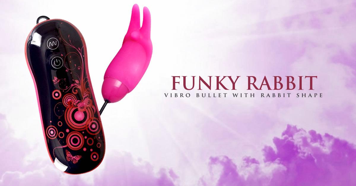 Smile Funky Rabbit Vibrator Æg