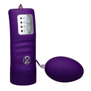Velvet Purple Pill Vibrator Æg