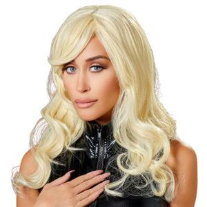 Britney Paryk med Langt Blond Hår