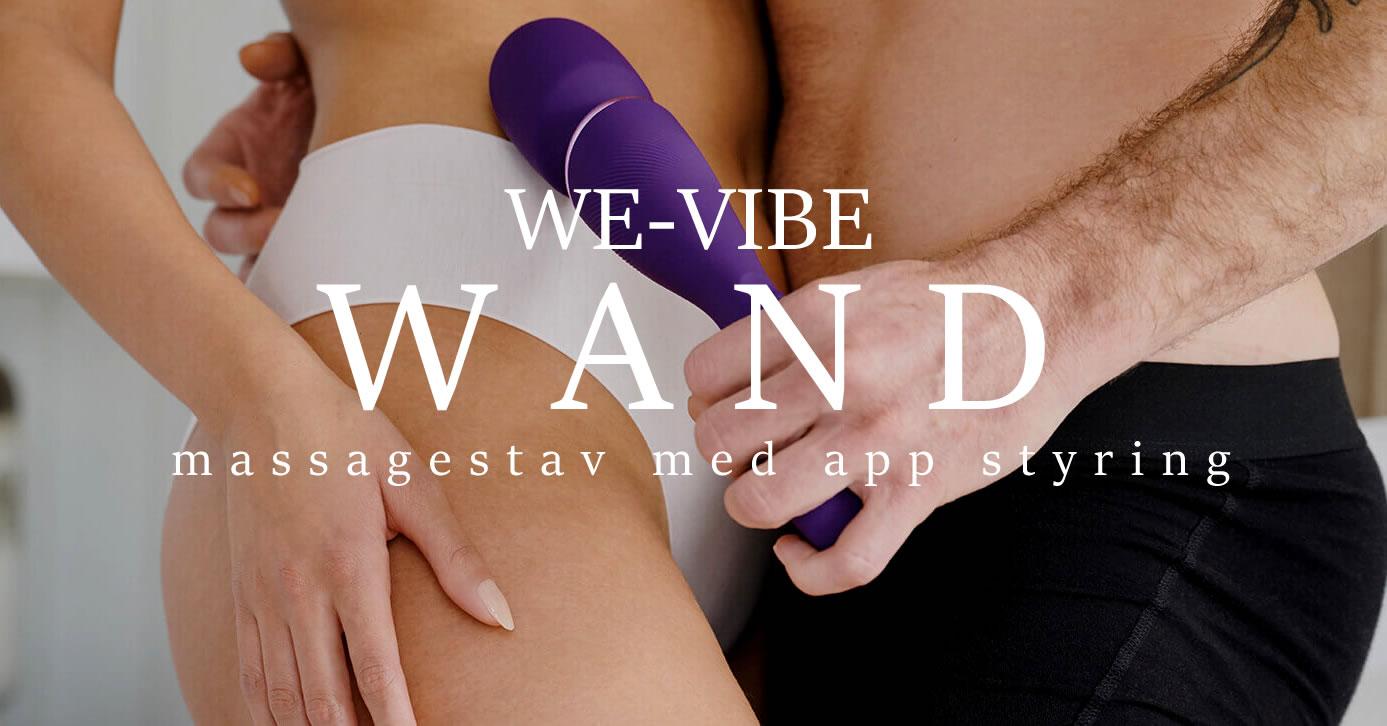 We-Vibe Wand er den nye smarte app-styrede massagestav