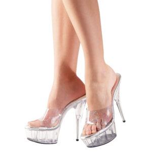 Sandal Sydney Stiletter i Transparent