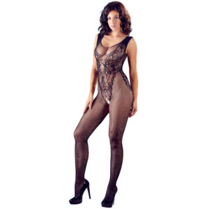 Net Catsuit med Blonde Body Design