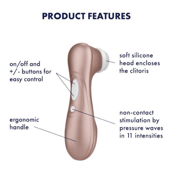 Satisfyer Pro 2 air pulse klitoris stimulator