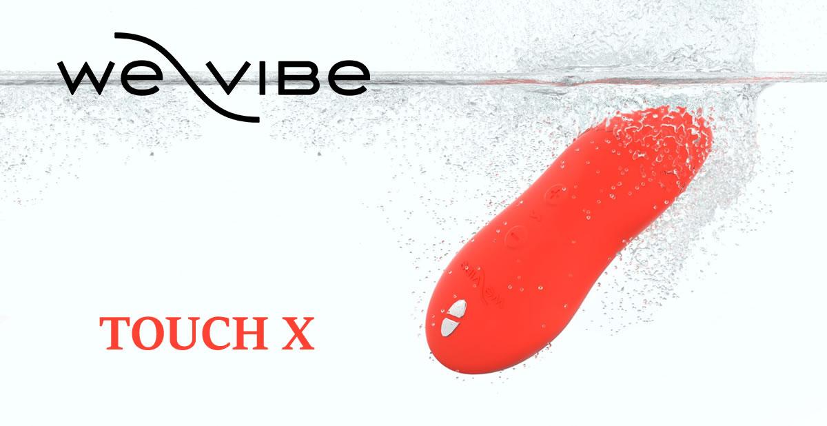 We Vibe Touch X vandtæt klitoris vibrator