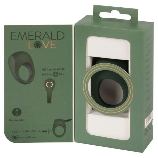 Emerald Love Vibrator Penisring