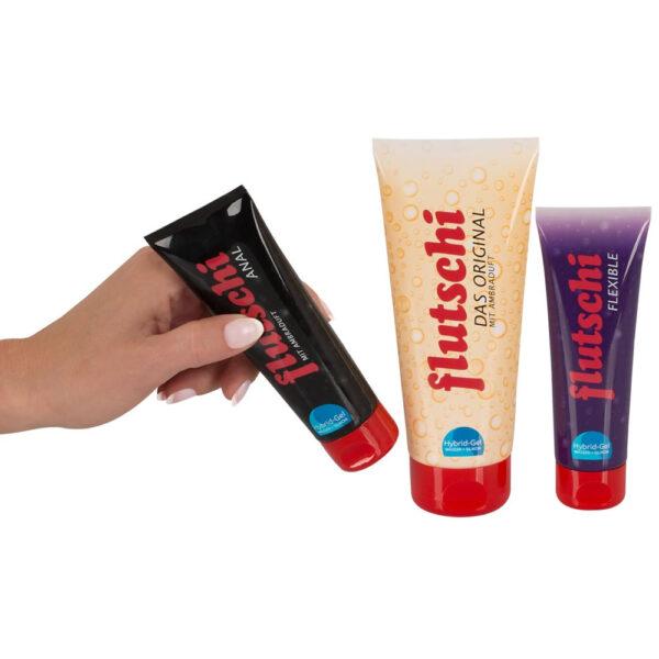 Flutschi Glidecreme Pakke med 3 Varianter