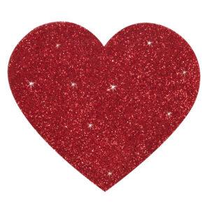 Heart Boob Sticker - Klistermærke til brystet med hjerte form
